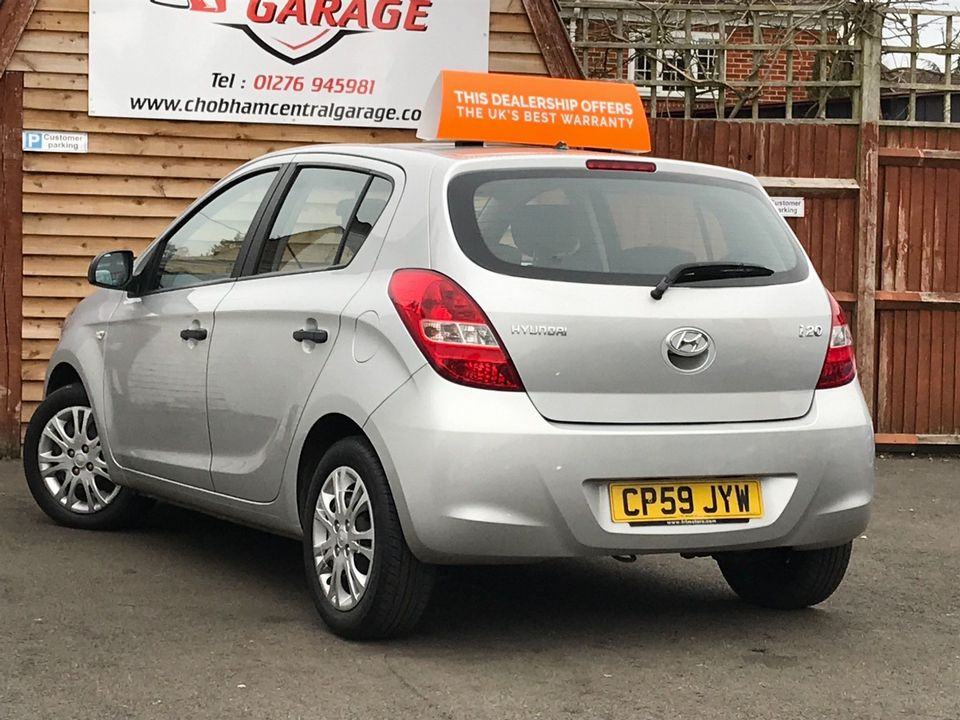 2009 Hyundai i20 1.2 Classic 5dr - Picture 9 of 26