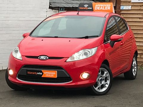 2012 Ford Fiesta 1.25 Zetec 5dr - Picture 5 of 28