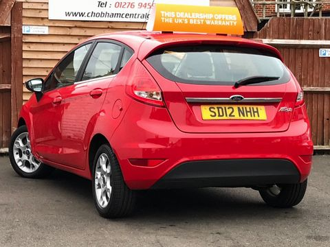 2012 Ford Fiesta 1.25 Zetec 5dr - Picture 9 of 28