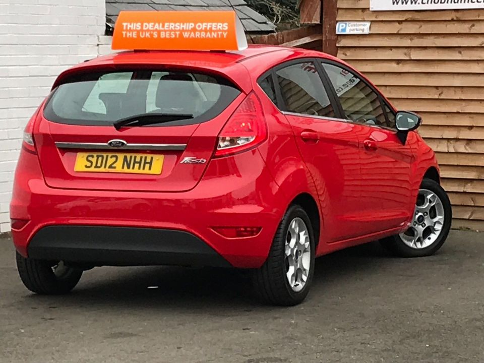 2012 Ford Fiesta 1.25 Zetec 5dr - Picture 6 of 32