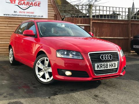 2009 Audi A3 1.6 Sport Sportback 5dr - Picture 1 of 31