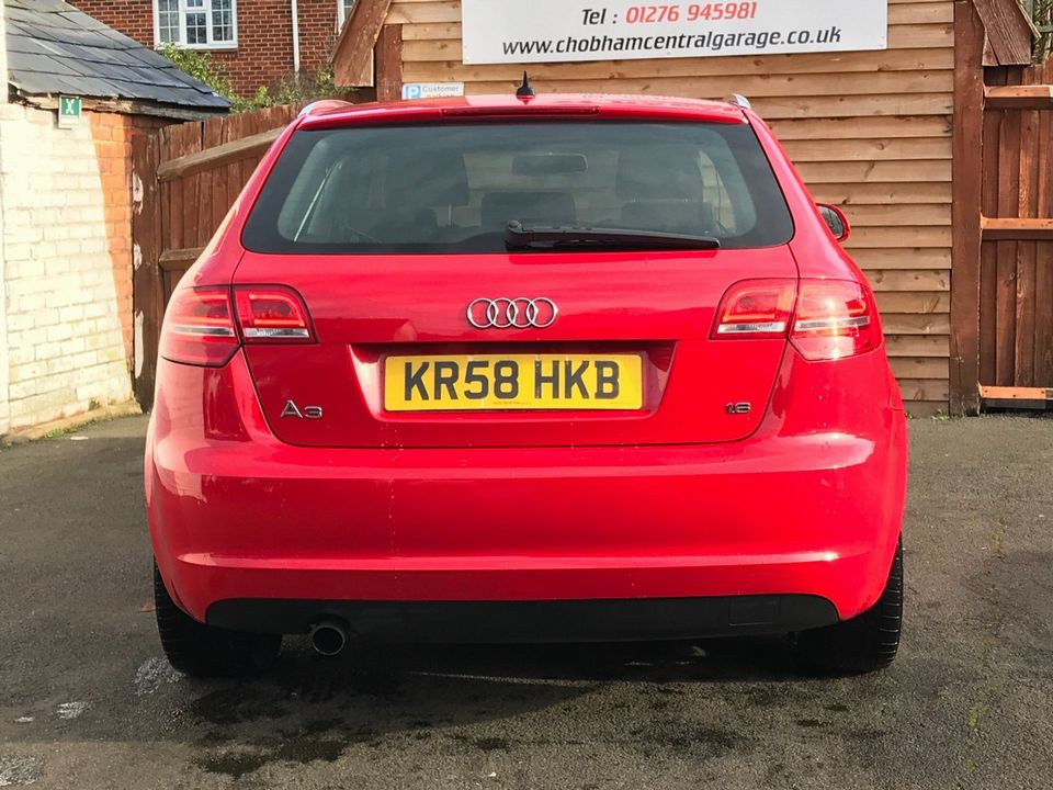 2009 Audi A3 1.6 Sport Sportback 5dr - Picture 7 of 31