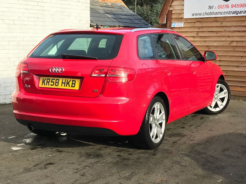 2009 Audi A3 1.6 Sport Sportback 5dr - Picture 9 of 31