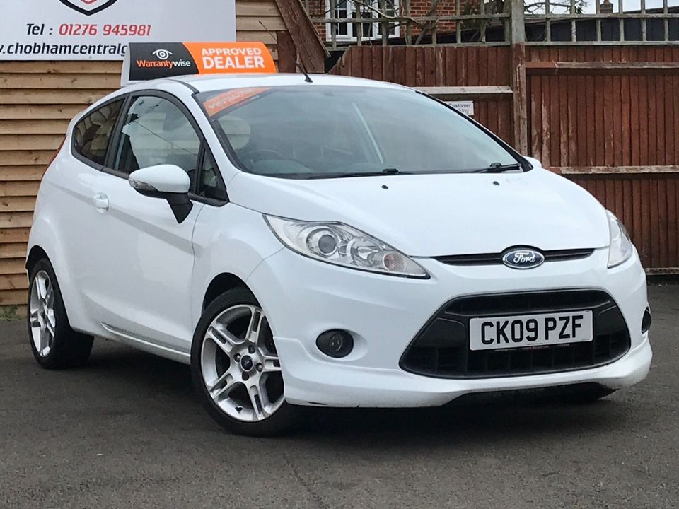 2009 Ford Fiesta 1.6 TDCi Zetec S 3dr - Picture 1 of 28