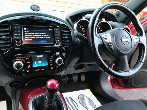 2014 Nissan Juke 1.2 DIG-T Acenta Premium Manual 6Spd (s/s) 5dr - Picture 11 of 35