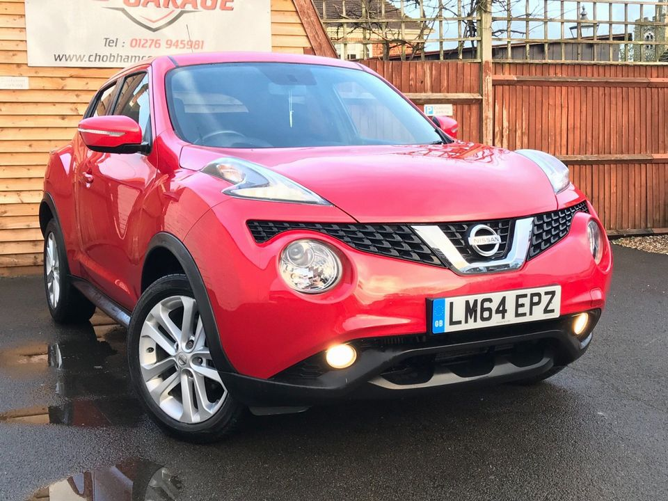 2014 Nissan Juke 1.2 DIG-T Acenta Premium Manual 6Spd (s/s) 5dr - Picture 1 of 35