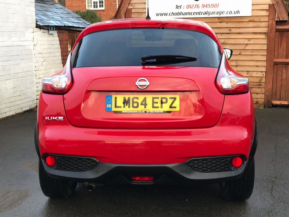 2014 Nissan Juke 1.2 DIG-T Acenta Premium Manual 6Spd (s/s) 5dr - Picture 7 of 35