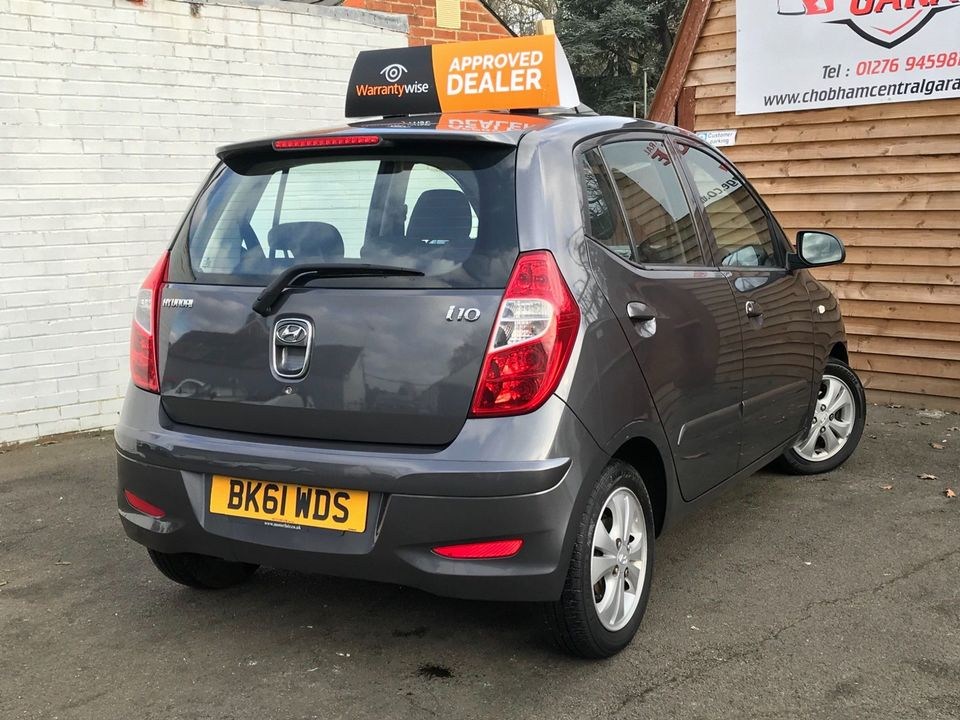 2011 Hyundai i10 1.2 Style 5dr - Picture 9 of 34
