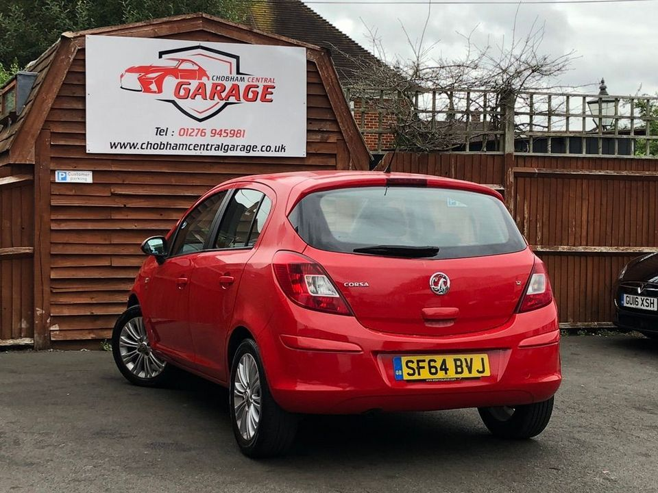 2014 Vauxhall Corsa 1.2 i 16v SE 5dr (a/c) - Picture 10 of 35