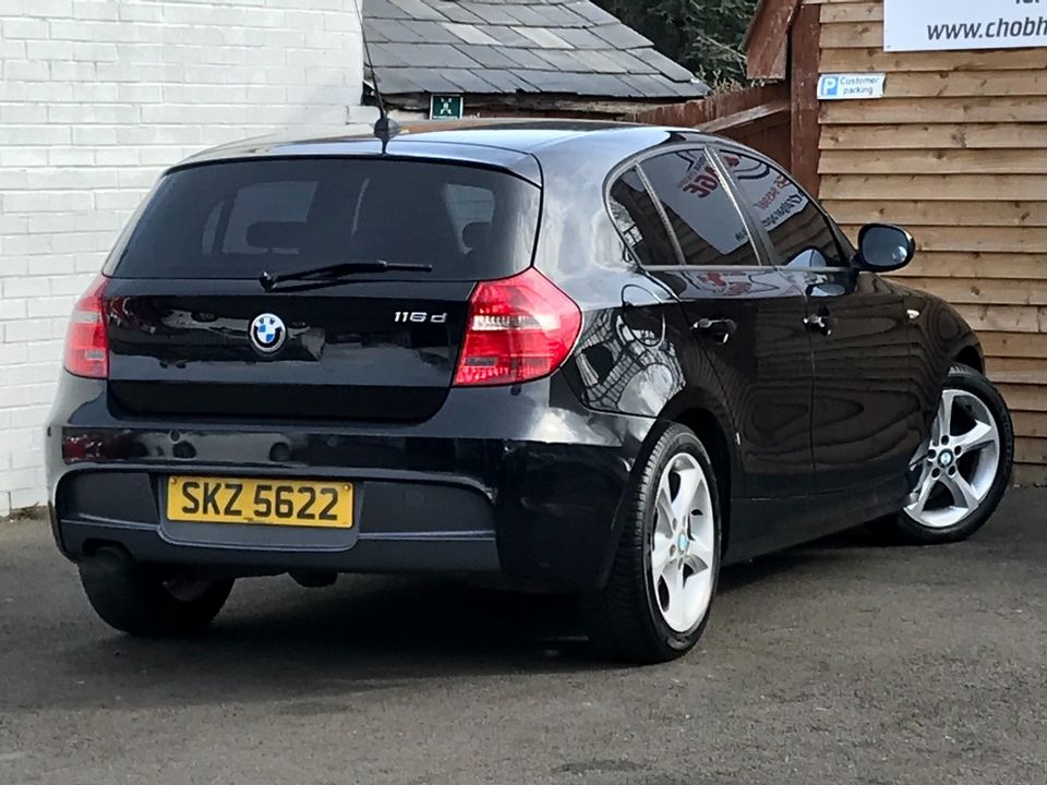 2010 BMW 1 Series 2.0 116d Sport 5dr - Picture 9 of 33