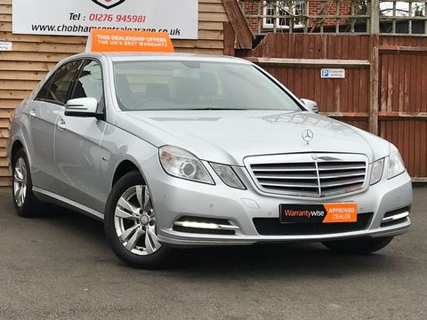 2011 Mercedes-Benz E Class 2.1 E220 CDI BlueEFFICIENCY SE 4dr