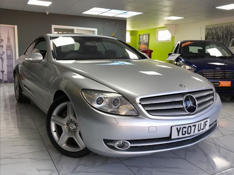 2007 Mercedes-Benz CL 5.5 CL500 2dr