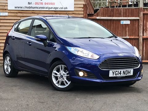 2014 Ford Fiesta 1.25 Zetec 5dr - Picture 1 of 31