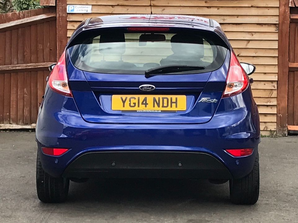 2014 Ford Fiesta 1.25 Zetec 5dr - Picture 7 of 31