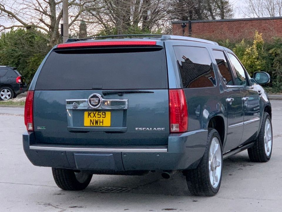 2012 Cadillac Escalade 6.2 V8 Sport Luxury SUV 5dr Petrol Automatic 4WD (383 g/km, 409 bhp) - Picture 6 of 37