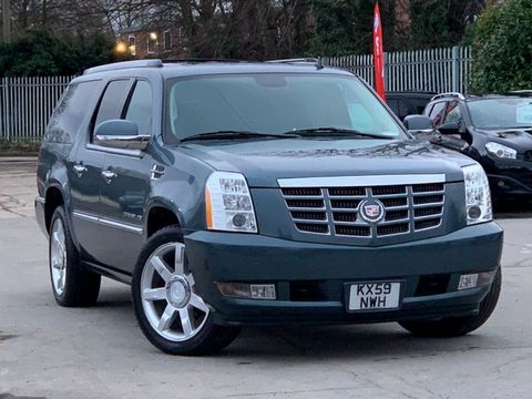 2012 Cadillac Escalade 6.2 V8 Sport Luxury SUV 5dr Petrol Automatic 4WD (383 g/km, 409 bhp) - Picture 1 of 37