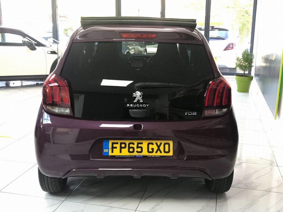 2015 Peugeot 108 1.2 PureTech Allure Top! 5dr - Picture 10 of 42