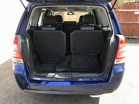 2010 Vauxhall Zafira 1.9 CDTi Active 5dr - Picture 11 of 34