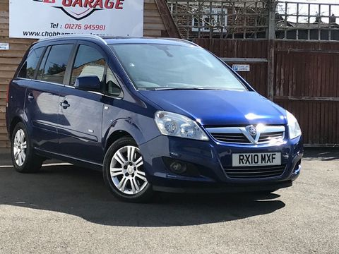 2010 Vauxhall Zafira 1.9 CDTi Active 5dr - Picture 1 of 34