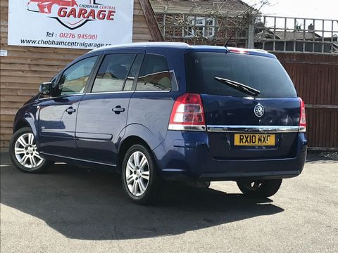 2010 Vauxhall Zafira 1.9 CDTi Active 5dr - Picture 6 of 34