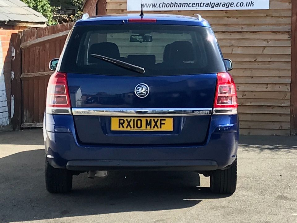 2010 Vauxhall Zafira 1.9 CDTi Active 5dr - Picture 7 of 34