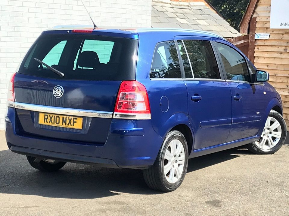 2010 Vauxhall Zafira 1.9 CDTi Active 5dr - Picture 9 of 34