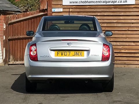 2007 Nissan Micra C+C 1.6 Pink 2dr - Picture 10 of 37