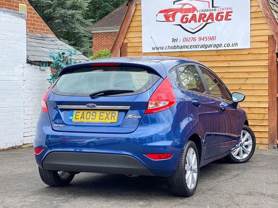 2009 Ford Fiesta 1.25 Zetec 5dr - Picture 13 of 28