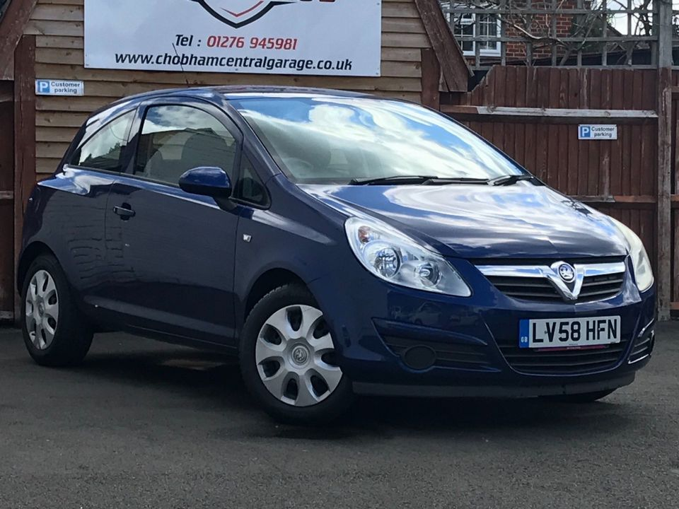 2008 Vauxhall Corsa 1.4 i 16v Club 3dr - Picture 1 of 22