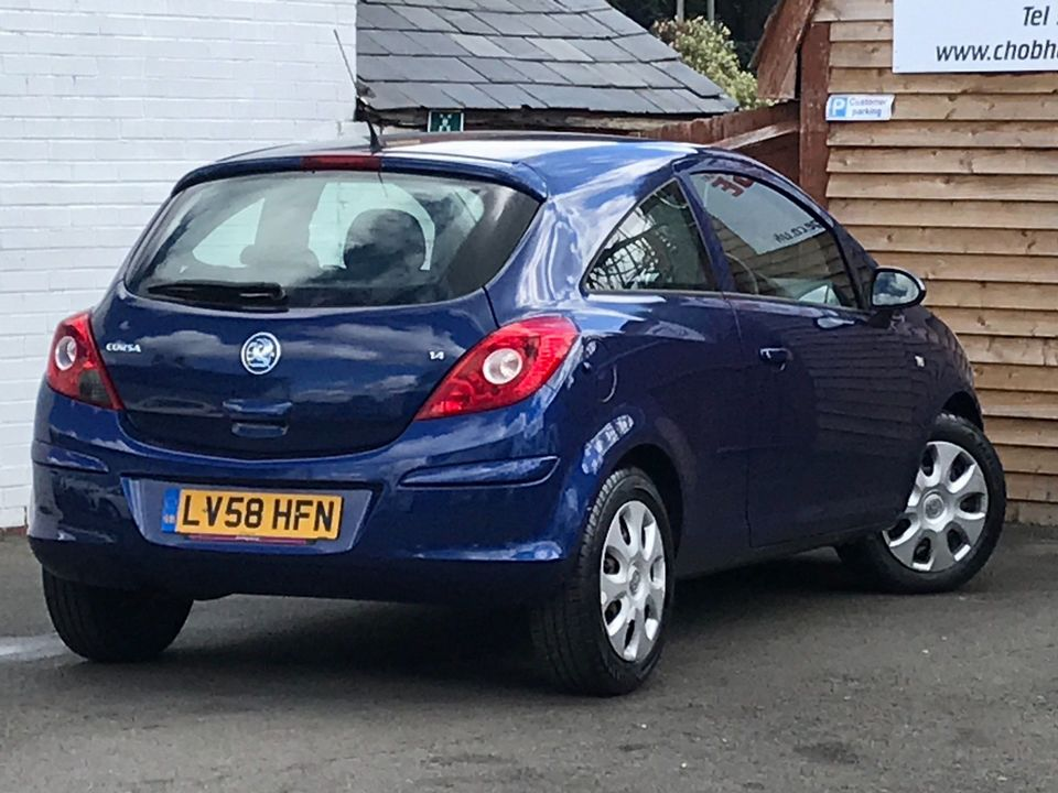 2008 Vauxhall Corsa 1.4 i 16v Club 3dr - Picture 9 of 22