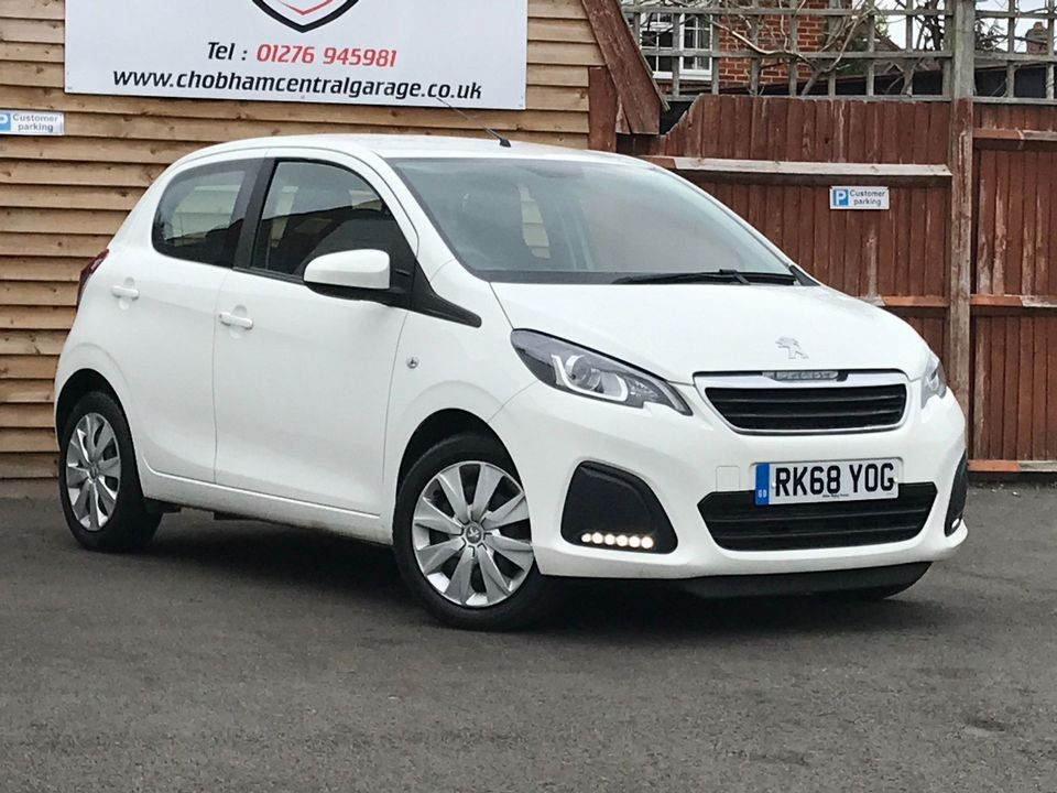 2018 Peugeot 108 1.0 Active 5dr - Picture 1 of 33