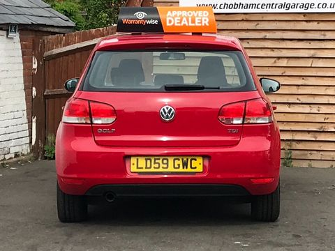2009 Volkswagen Golf 1.6 TDI S 5dr - Picture 7 of 30