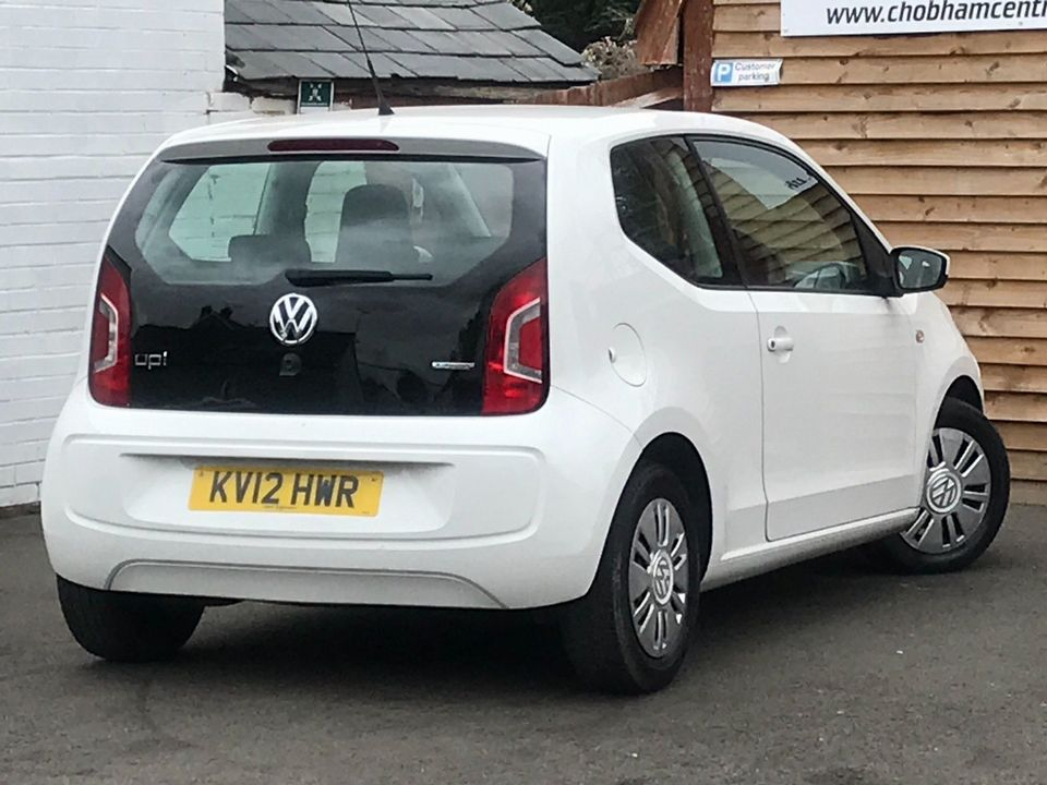 2012 Volkswagen up! 1.0 BlueMotion Tech Move up! 3dr - Picture 5 of 26