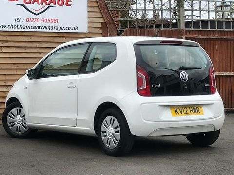 2012 Volkswagen up! 1.0 BlueMotion Tech Move up! 3dr - Picture 8 of 26