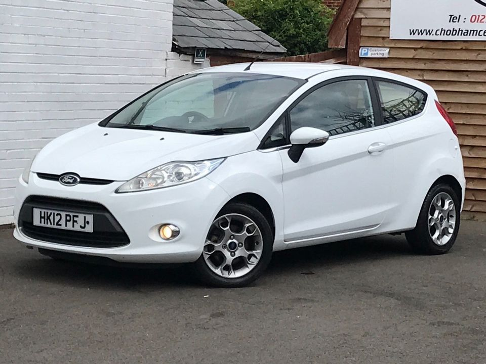 2012 Ford Fiesta 1.25 Zetec 3dr - Picture 5 of 34