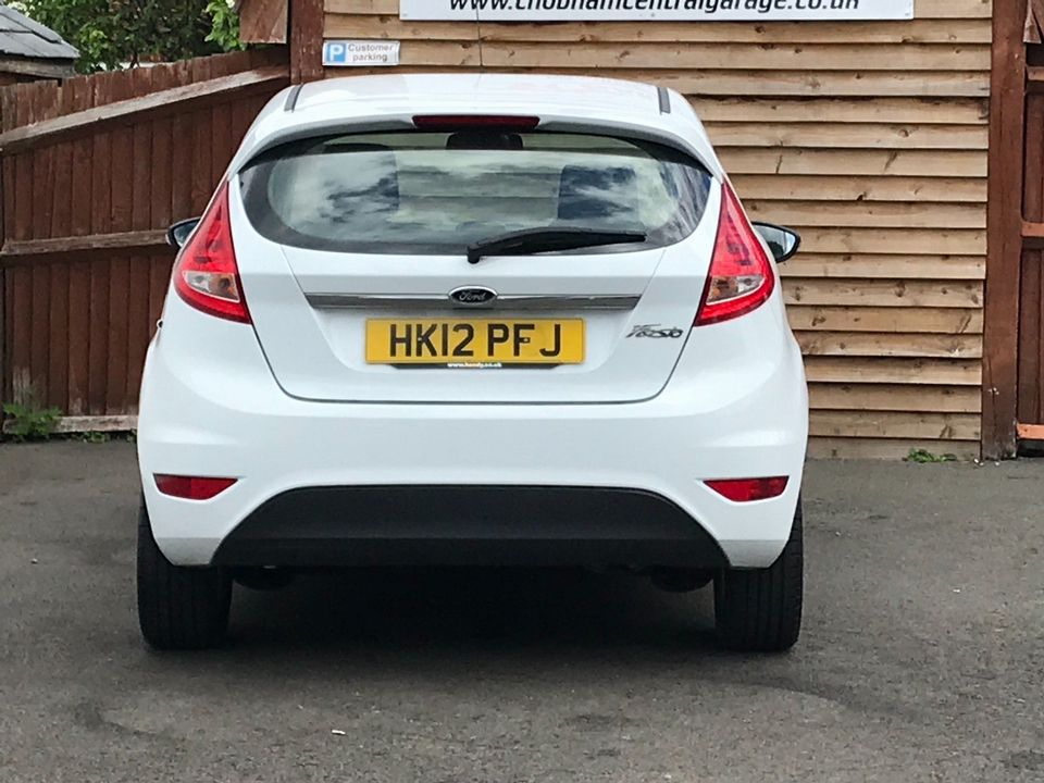 2012 Ford Fiesta 1.25 Zetec 3dr - Picture 7 of 34