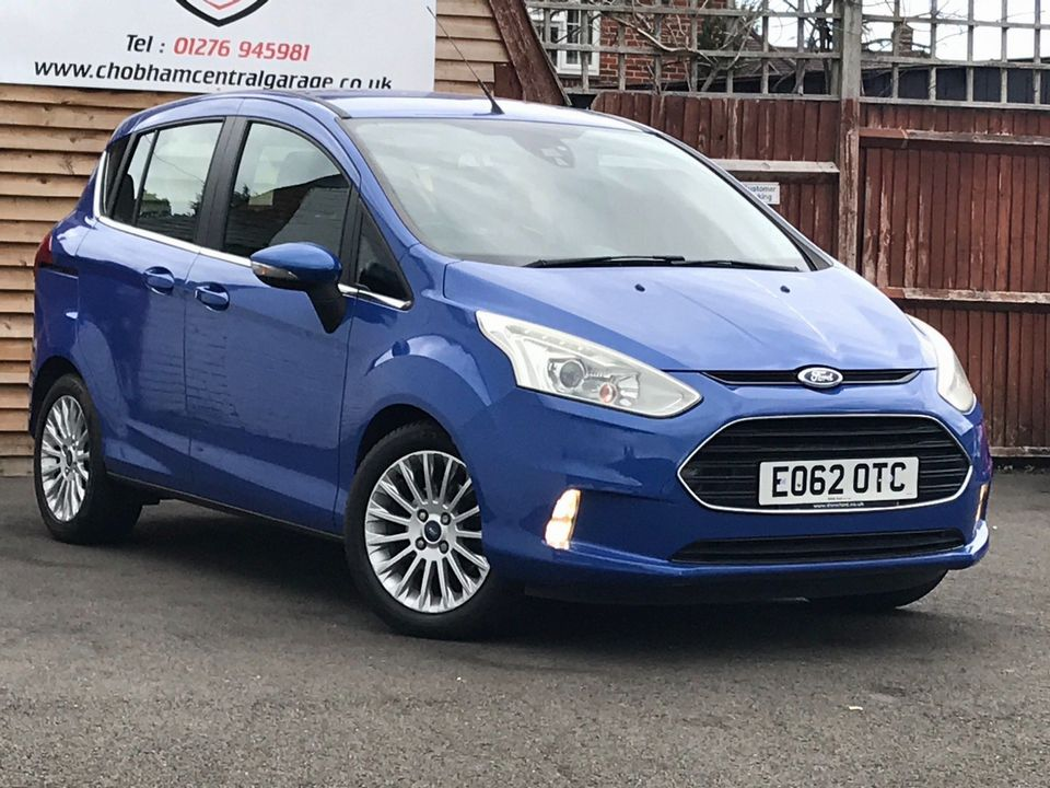 2013 Ford B-Max 1.0T EcoBoost Titanium (s/s) 5dr (EU5) - Picture 1 of 31