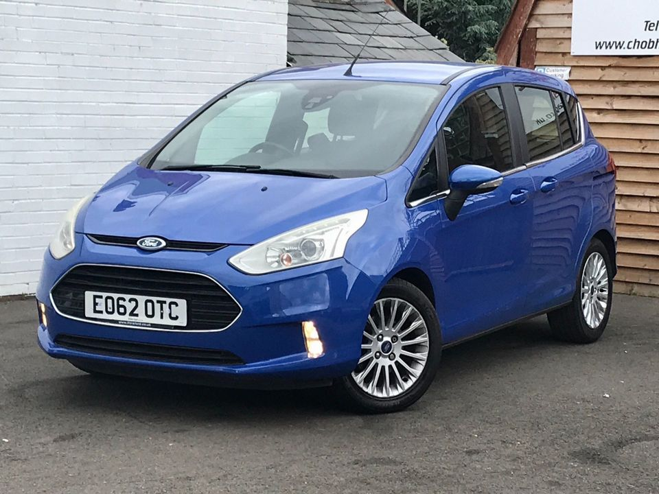 2013 Ford B-Max 1.0T EcoBoost Titanium (s/s) 5dr (EU5) - Picture 5 of 31