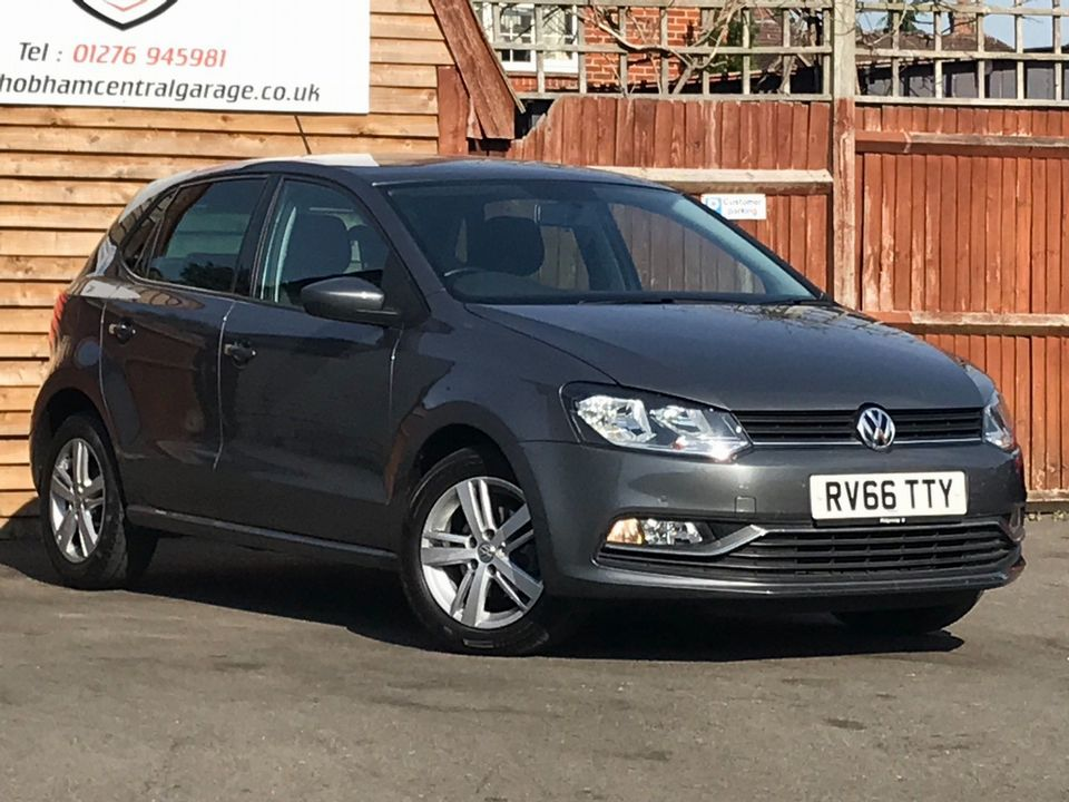 2016 Volkswagen Polo 1.2 TSI BlueMotion Tech Match (s/s) 5dr - Picture 1 of 39