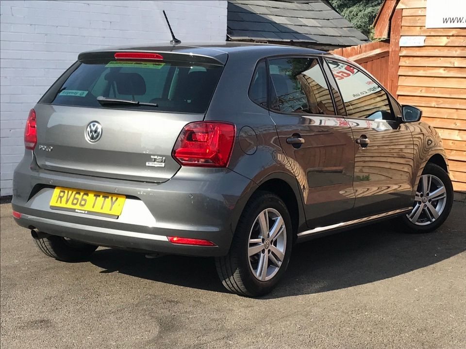 2016 Volkswagen Polo 1.2 TSI BlueMotion Tech Match (s/s) 5dr - Picture 9 of 39