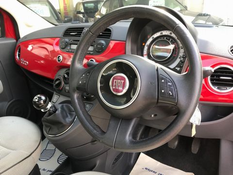 2012 Fiat 500 1.2 Lounge (s/s) 3dr - Picture 14 of 31