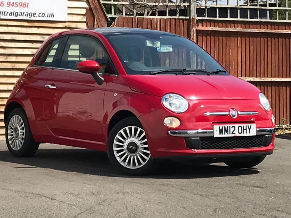 2012 Fiat 500 1.2 Lounge (s/s) 3dr - Picture 1 of 31