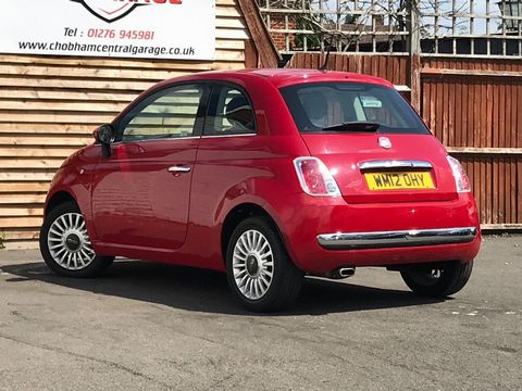 2012 Fiat 500 1.2 Lounge (s/s) 3dr - Picture 6 of 31