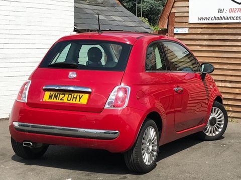 2012 Fiat 500 1.2 Lounge (s/s) 3dr - Picture 9 of 31