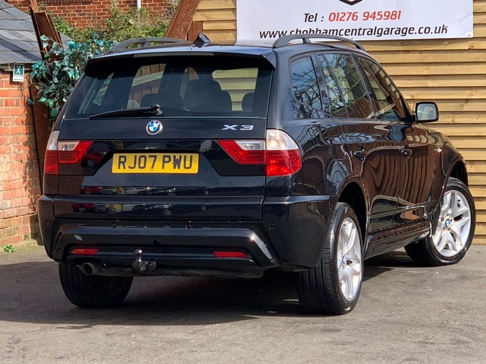 2007 BMW X3 2.0 20d M Sport 5dr - Picture 10 of 21