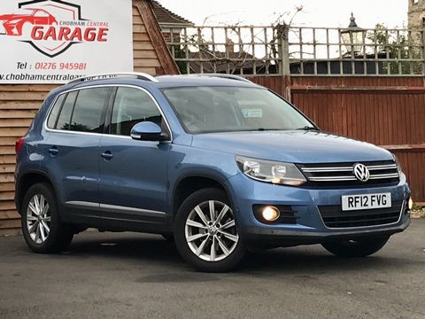 2012 Volkswagen Tiguan 2.0 TDI BlueMotion Tech SE 2WD (s/s) 5dr - Picture 1 of 38