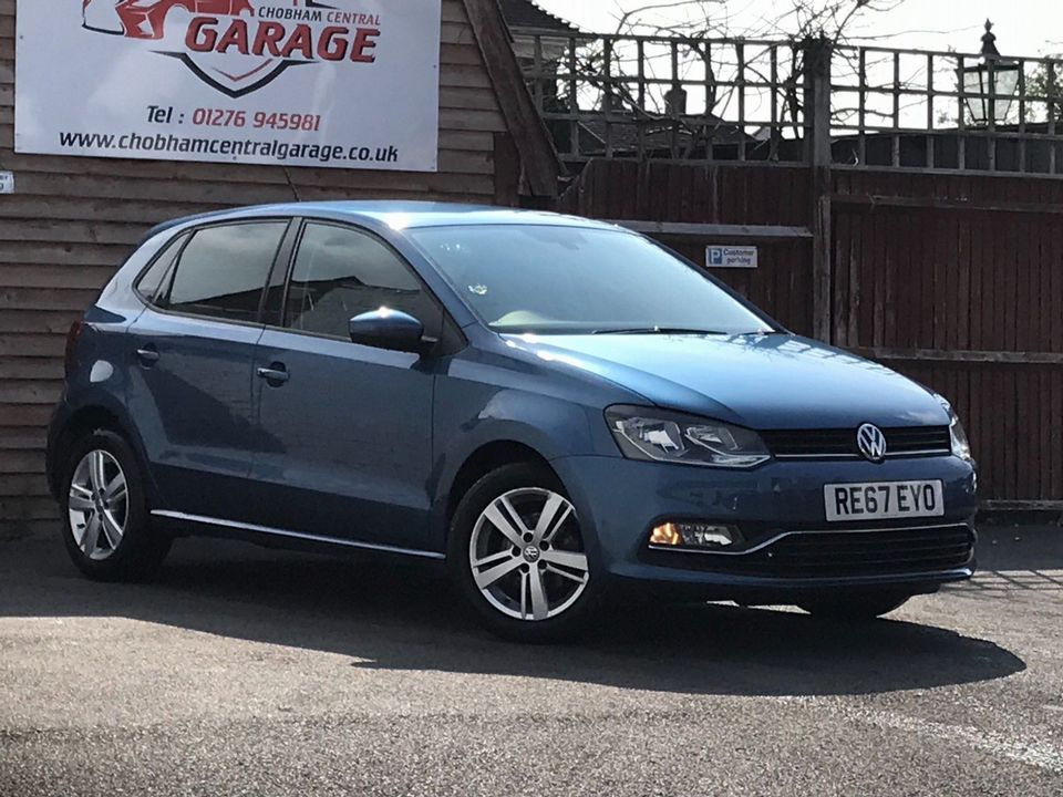 2017 Volkswagen Polo 1.2 TSI Match Edition (s/s) 5dr - Picture 1 of 37