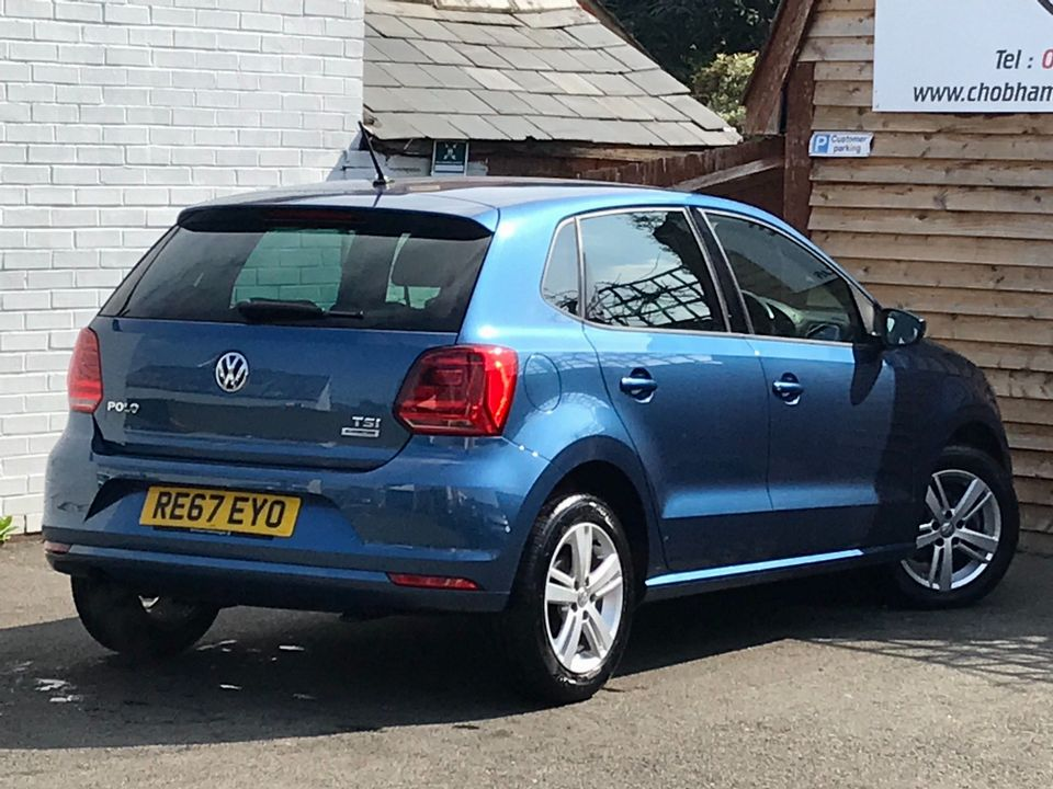 2017 Volkswagen Polo 1.2 TSI Match Edition (s/s) 5dr - Picture 7 of 37