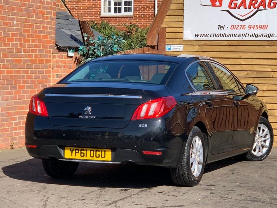 2011 Peugeot 508 2.0 HDi FAP SR Saloon 4dr Diesel Manual (149 g/km, 163 bhp) - Picture 10 of 26