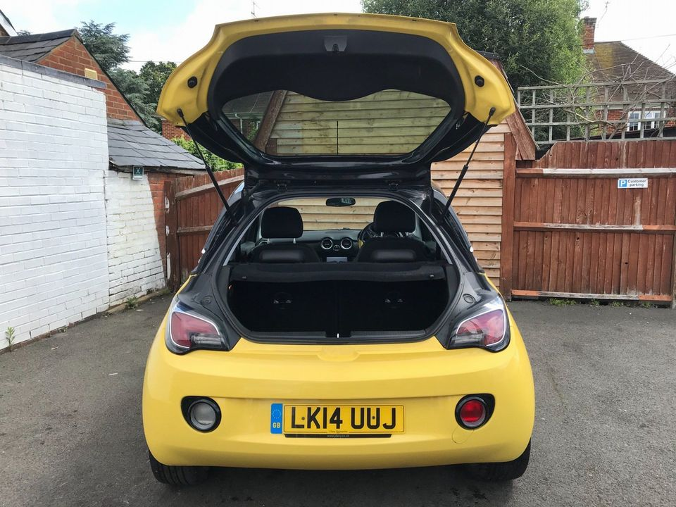2014 Vauxhall ADAM 1.4 16v SLAM 3dr - Picture 10 of 33